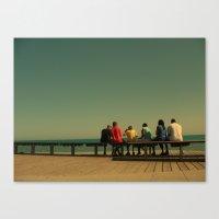 Sea Colors Canvas Print