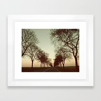 there is this undiscovered space, 3 Framed Art Print