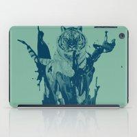 Paint Tiger iPad Case
