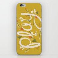 Play - Yellow iPhone & iPod Skin