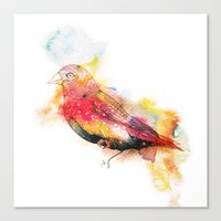 One Little Indian Canvas Print