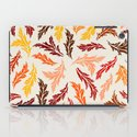 Colorful Leaves iPad Case