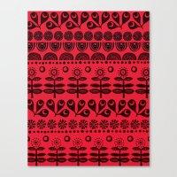 Gran's Blanket Canvas Print