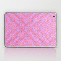 Pastel Broken Diamond Swirl Pattern Laptop & iPad Skin
