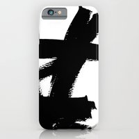 Abstract black & white 2 iPhone 6 Slim Case