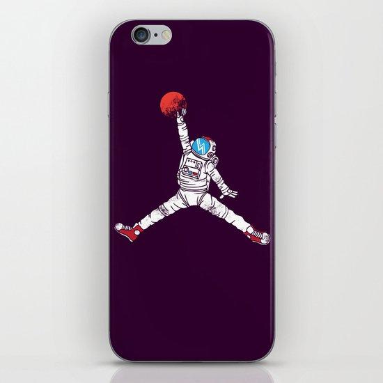 space dunk (purple ver.) iPhone & iPod Skin