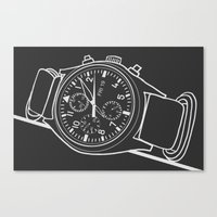 Andrey Watch Canvas Print