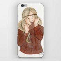 Sweater Season iPhone & iPod Skin
