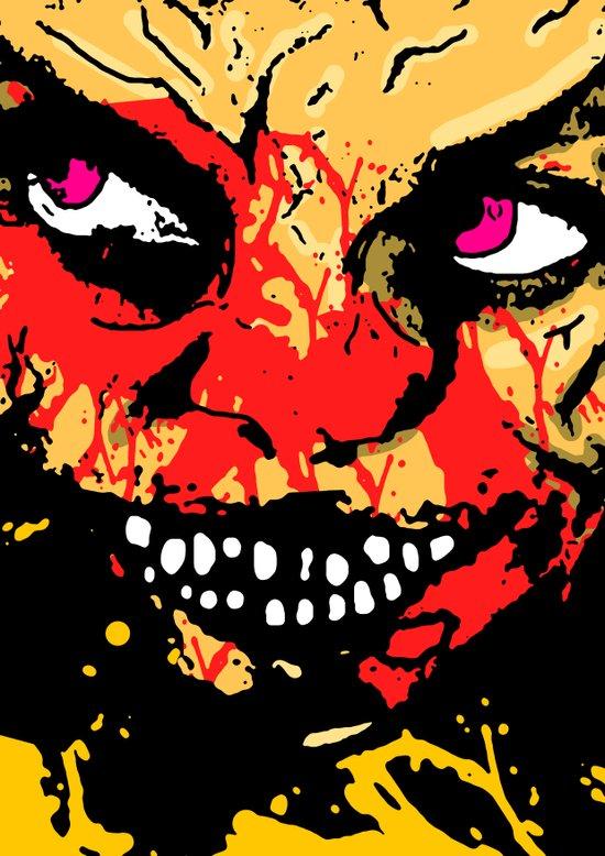 Demons 2 Art Print