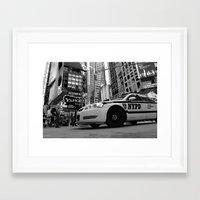 New York #01 Framed Art Print