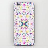 Paint Splatter - White iPhone & iPod Skin