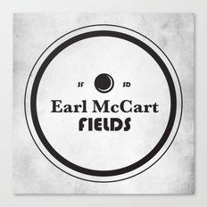 Earl McCart Fields Canvas Print