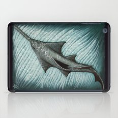 Sawfish - Acrylic Painting iPad Case