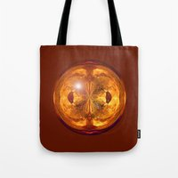 Fire Crystal Tote Bag