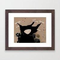 Mister Wind Framed Art Print