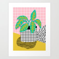 Get Real - Potted Plant … Art Print