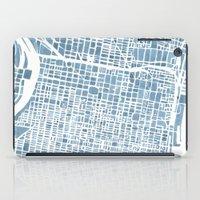 Philadelphia City Map iPad Case