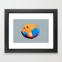 Foal Framed Art Print