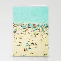 Coney Island Beach Stationery Cards