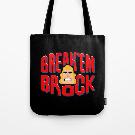 Break'em Brock Tote Bag