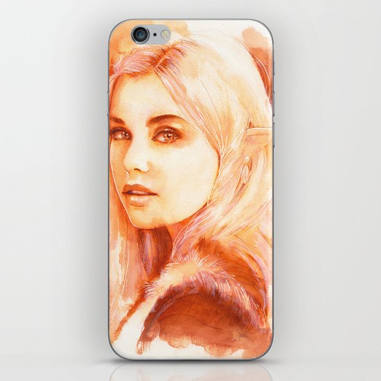 Tell me your stories iPhone & iPod Skin