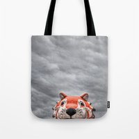 The Eye of the Tiger Tote Bag