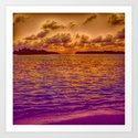 Beach, 18 Art Print