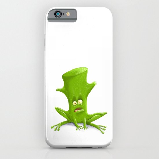 Log in a Frog iPhone & iPod Case