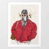 girl5 Art Print