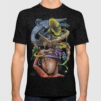 Crazy 4 Music - Mr.Klevra Mens Fitted Tee Tri-Black SMALL