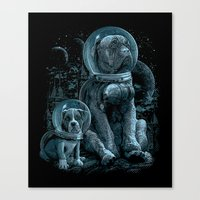 WE MISS HOME Canvas Print