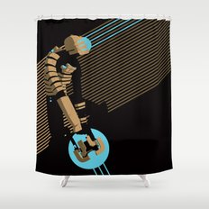 The Engineer Shower Curtain