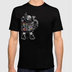 Panda Music Jaeger SMALL Black Mens Fitted Tee