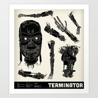 Decommissioned: Terminator  Art Print