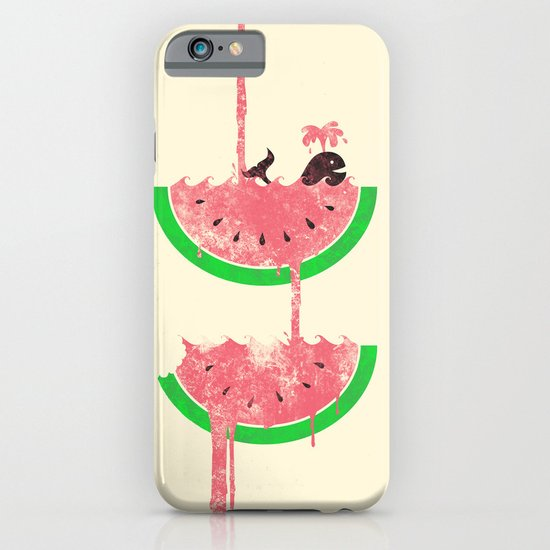 watermelon falls iPhone & iPod Case