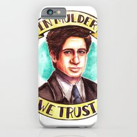 iPhone & iPod Case featuring In Mulder We Trust by Tiffany Willis