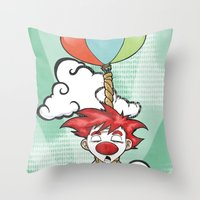 The Punch-line Throw Pillow