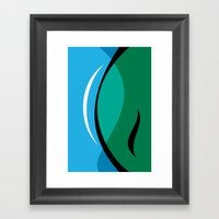 Lens Framed Art Print