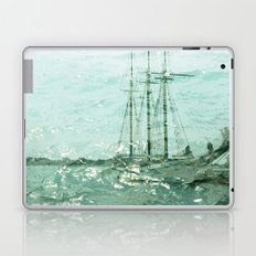 so we beat on, boats against the current... Laptop & iPad Skin
