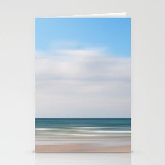 beach impression Stationery Card