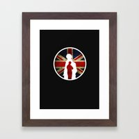 Queen and Country (Sherlock BBC) Framed Art Print