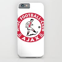 iPhone & iPod Case featuring AFCA Ajax Amsterdam by The Voetbal Factory