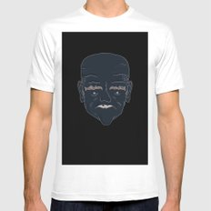 Illustration SMALL White Mens Fitted Tee