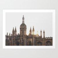 King's College, Cambridg… Art Print