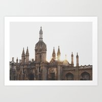King's College, Cambridg… Art Print