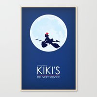 Kiki's Delivery Service Poster Canvas Print