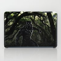 Big Cat On The Prowl iPad Case