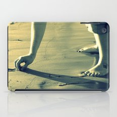 Girl on the Beach iPad Case