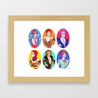 Bowie 6 Framed Art Print