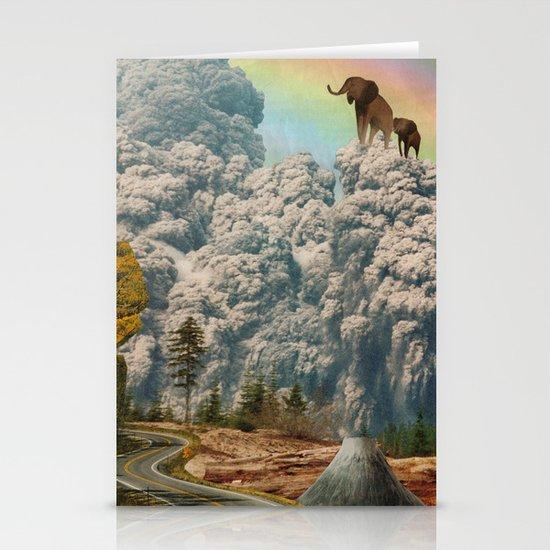 fiction of fantasy Stationery Card